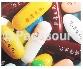 軟/硬膠囊、錠劑、防偽識別碼印字
