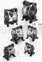 """氣動雙隔膜泵》鋁合金系列 3/8""""、1/2""""、3/4""""、1""""、1-1/2""""、2"""""""