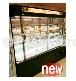 8尺人造石立式圓角滑門冷藏展示櫃-全野冷凍調理設備股份有限公司